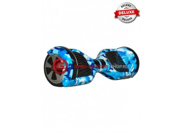 Гироскутер Smart Balance Wheels 6.5 Deluxe-Edition синий хаки