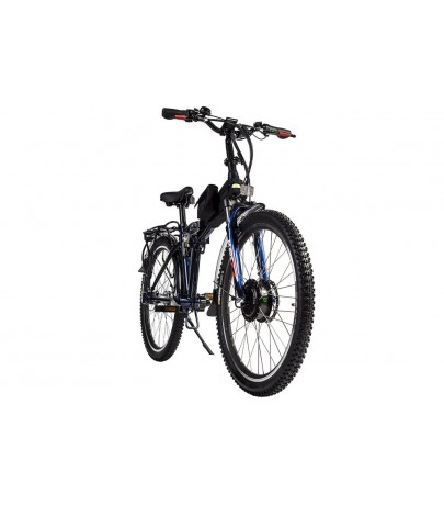 Electric Bicycle Eltreco PATROL Cardan 28 черный